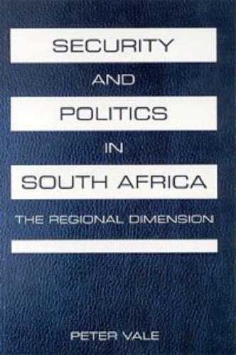 9781919713816: Security and Politics in South Africa: The Regional Dimension