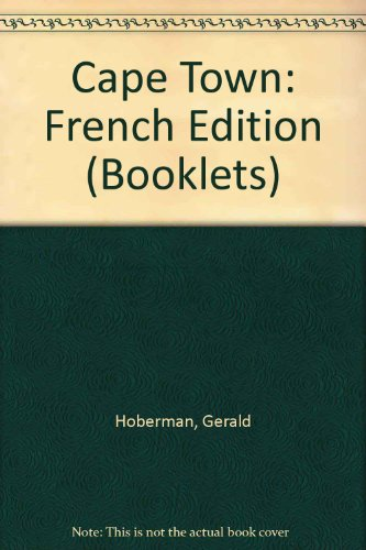Cape Town Booklet: French Edition (Booklets) (9781919734095) by Hoberman, Gerald