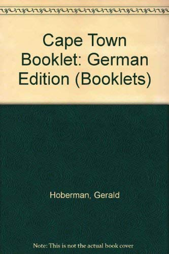 Cape Town Booklet: German Edition (Booklets) (1919734252) by Gerald Hoberman