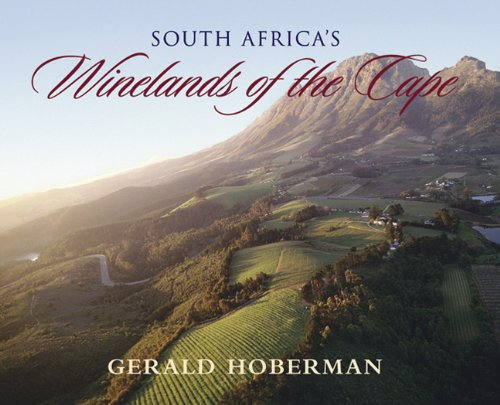 South Africa S Winelands Of The Cape Coffee Table Book Hoberman Gerald Lombard
