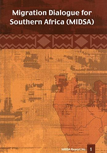 Migration Dialogue for Southern Africa (MIDSA): Towards: Jonathan Klaaren, Bonaventure