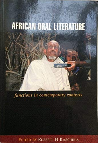 9781919876078: African Oral Literature: functions in contemporary contexts