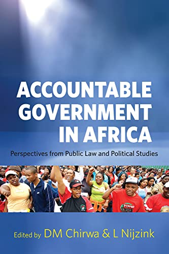 9781919895376: ACCOUNTABLE GOVERNMENT IN AFRI