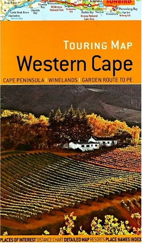 9781919938851: Touring map Western Cape: Cape Peninsula, Winelands, Garden Route to PE