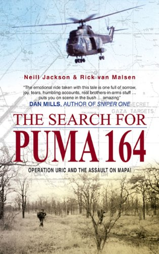 9781920143572: The Search for Puma 164: Operation Uric and the Assault on Mapai