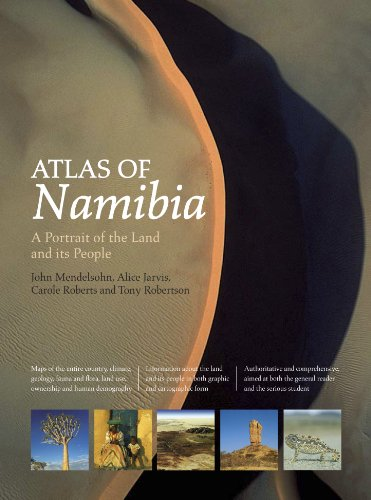 9781920289164: Atlas of Namibia: A Portrait of the Land and Its People