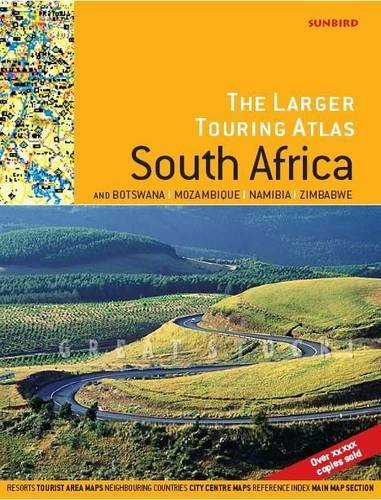 9781920289171: Larger Touring Atlas of South Africa: & Botswana, Mozambique, Namibia, Zimbabwe