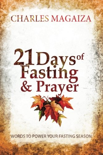 9781920664008: 21 Days of Fasting & Prayer: Words to power your fasting season