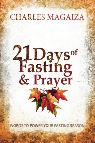 21 Days of Fasting Prayer
