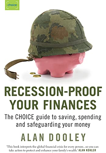 9781920705510: Recession-Proof Your Finances: Saving, Spending and Safeguarding Your Money