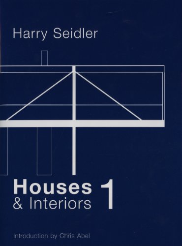 9781920744168: Harry Seidler: Houses Boxed Set--Early Houses and Recent Houses (v. 1 & 2)
