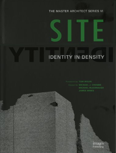 9781920744212: SITE: Identity in Density (Master Architect)