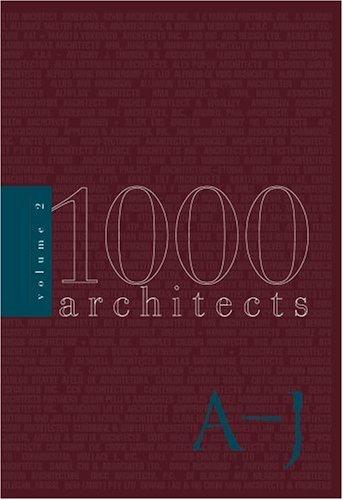 2000 Architects (1000 Architects) (v. 2): Images Publishing Group