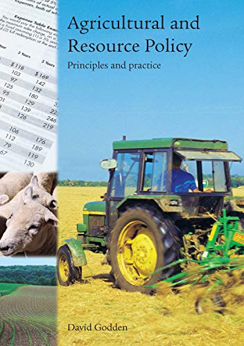 9781920898373: Agricultural and Resource Policy: Principles and Practice