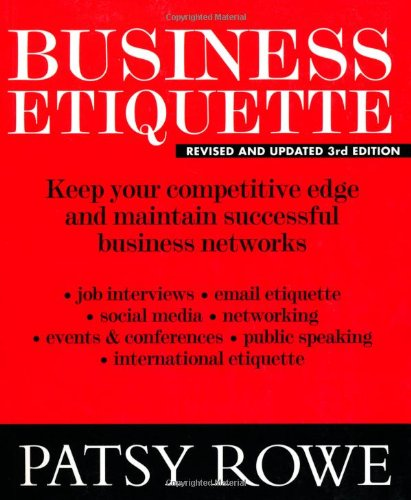 9781921024368: Business Etiquette: Keep your competitive edge and maintain successful business networks