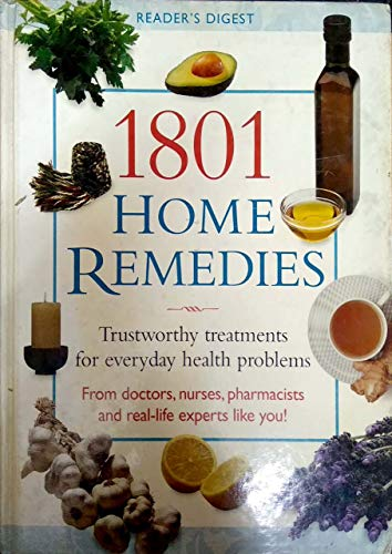 9781921077579: 1801 Home Remedies - Trustworthy Treatments For Everyday Health Problems