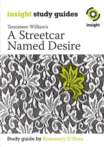 9781921088988: A Streetcar Named Desire (Insight Study Guides)