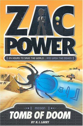 9781921098697: Tomb of Doom (Zac Power)