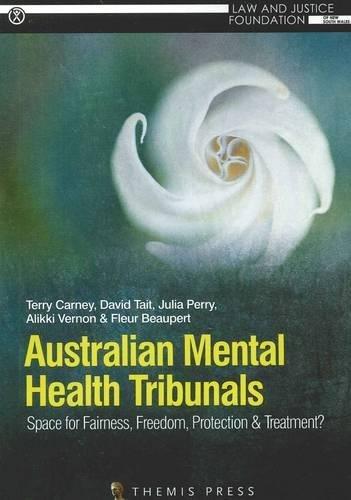Australian Mental Health Tribunals (Paperback): Terry Carney