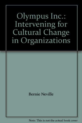 9781921142963: Olympus Inc.: Intervening for Cultural Change in Organizations