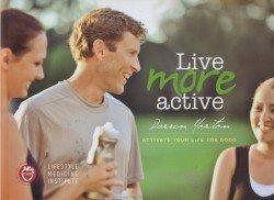Live More Active (Paperback): Darren Morton