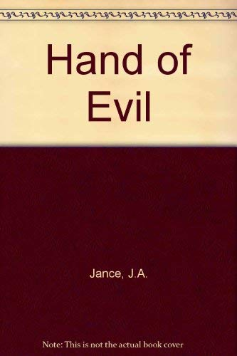 Hand of Evil (Ali Reynolds Mysteries) (1921470046) by Judith A. Jance