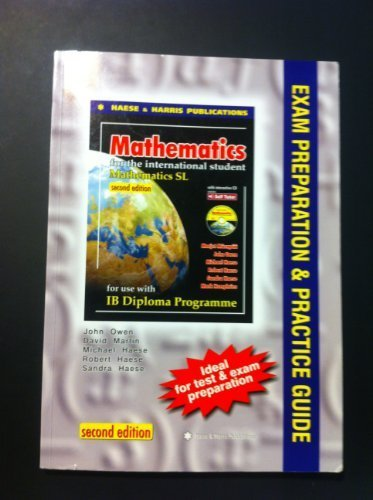 9781921500114: Mathematics for the International Student IB Diploma: SL Exam and Prep Guide
