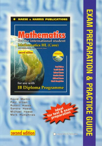9781921500121: Mathematics for the International Student IB Diploma: Exam Preparation and Guide for Maths HL Core
