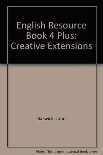 English Resource Book 4 Plus (Paperback): John Barwick