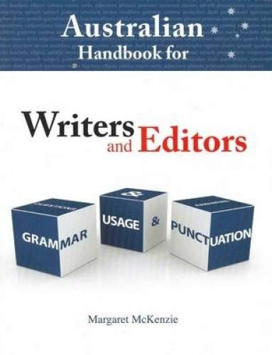 9781921606496: Australian Hand book For Wr ite rs A nd Ed ito rs