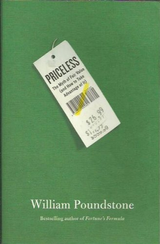 9781921640483: Priceless : The Myth of Fair Value (and How to Take Advantage of it)
