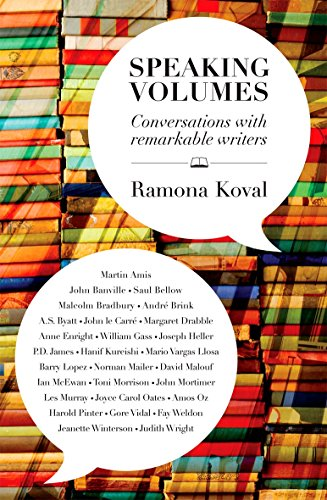 9781921640612: Speaking Volumes: Conversations with Remarkable Writers