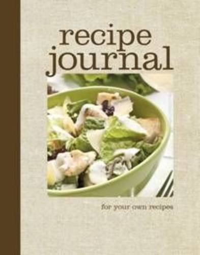 9781921708527: Recipe Journal