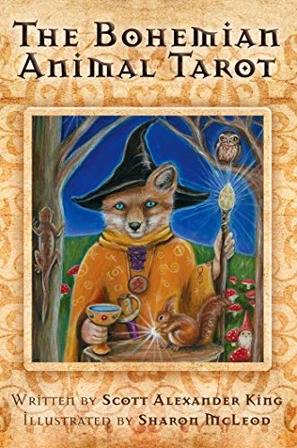 9781921878602: Bohemian Animal Tarot - 192pp book and 78 full colour cards