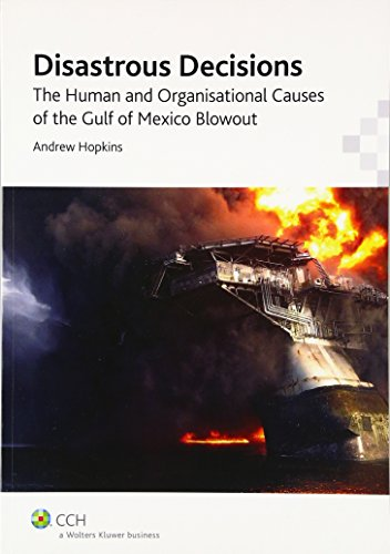 9781921948770: Disastrous Decisions: The Human and Organisational Causes of the Gulf of Mexico Blowout