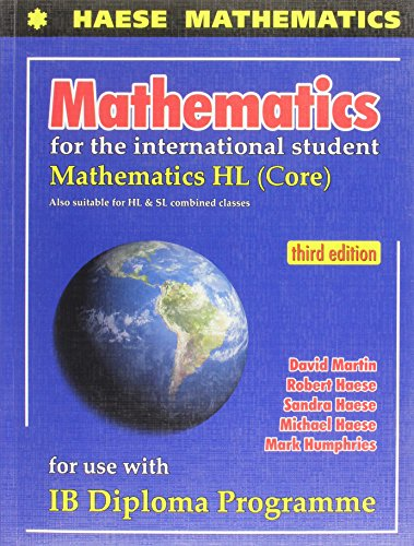 9781921972119: MATHEMATICS F/INTL.STUDENT:HL-W/CD