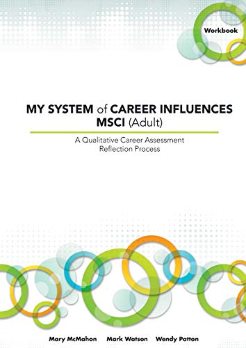 9781922117229: MY SYSTEM of CAREER INFLUENCES MSCI (Adult): Workbook