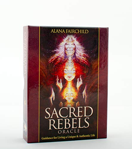 Sacred Rebels Oracle: Guidance for Living a Unique & Authentic Life, 44 Full Colour Cards and ...