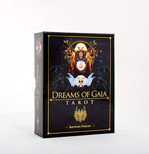 9781922161956: Dreams of Gaia Tarot: A Tarot For a New Era, 81 full colour cards & 308 page guidebook.