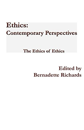 9781922239563: Ethics: Contemporary Perspectives: The Ethics of Ethics (Ethics Journal)