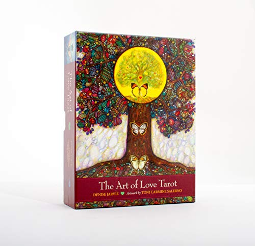 The Art of Love Tarot: Illuminating the Creative Heart: Jarvie, Denise