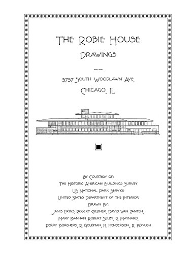 9781926517063: The Robie House Drawings, Designed By Frank Lloyd Wright