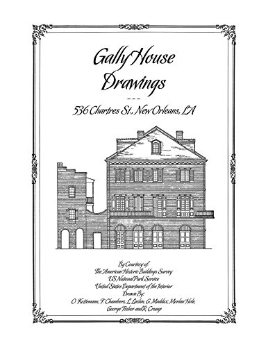 9781926517315: Gally House Drawings, New Orleans, LA