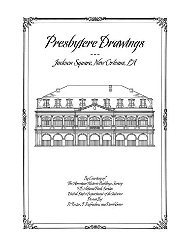 9781926517339: Presbytere Drawings, Jackson Square, New Orleans, LA