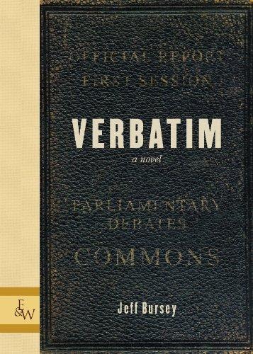 9781926531038: Verbatim: A Novel