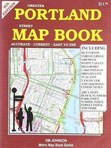Greater Portland Street Map Book GMJ: GM Johnson & Associates Ltd.
