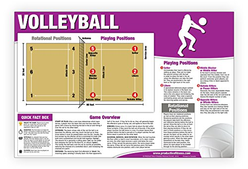 9781926534435: Educational Volleyball Poster