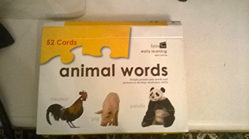 9781926567532: Animal Words (Early Learning): 52 Cards