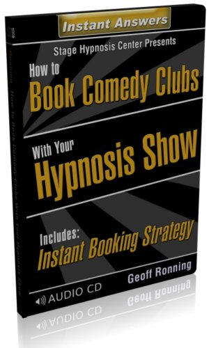 9781926636023: How to Book Comedy Clubs with Your Stage Hypnosis Show