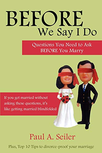 9781926676135: Before We Say I Do